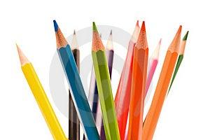 Multicolor Pencils Royalty Free Stock Image - Image: 15821546