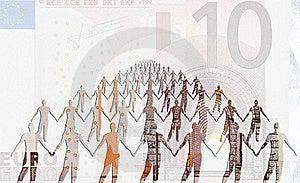 Euro Strength Royalty Free Stock Photos - Image: 15822498