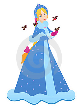 Snow Maiden Stock Images - Image: 15823784