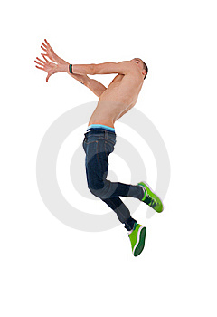 Jumping Up Stock Photos - Image: 15824453
