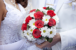 Bridegroom Keeping Bride Hand Stock Photography - Image: 15824782