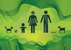 Basic Family Stock Image - Image: 15825721