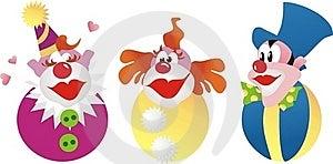 Clowns Royalty Free Stock Photos - Image: 15825828