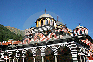 Rila Monastery Royalty Free Stock Images - Image: 15826699