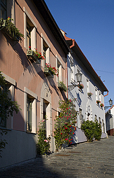 Banska Stiavnica - Old Aisle Stock Images
