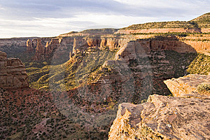 Colorado National Monument Stock Image - Image: 15829711