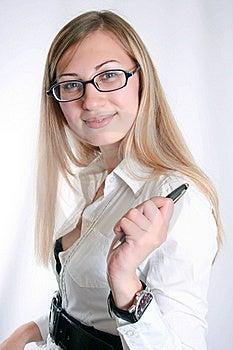 Mujer De Negocios Fotografía de archivo - Imagen: 15829792