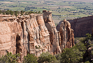 Colorado National Monument Stock Image - Image: 15829991