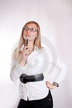Femme D'affaires Photos libres de droits - Image: 15830038