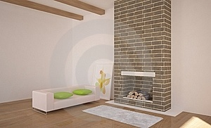 Interior With Furniture Royalty Free Stock Image - Image: 15831056