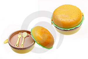 Cute Lunch Boxes Stock Photo - Image: 15833880