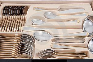 Tableware Kit Stock Images - Image: 15834574