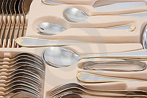 Tableware Kit Stock Image - Image: 15834591