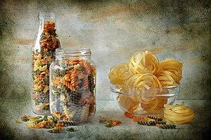 Still Life With Macaronis Stock Photos - Image: 15837843