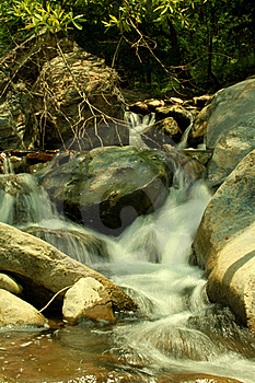 Small Stream Royalty Free Stock Image - Image: 15838216