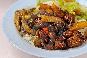 Vegetarian Sweet And Sour Pork Stock Photos - Image: 15842393