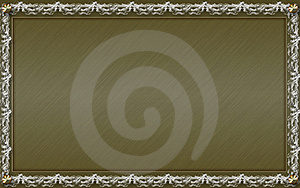 Vintage Photo Frame With Classy Patterns Stock Photo - Image: 15844030
