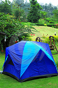 Camping In Nation Park Royalty Free Stock Images - Image: 15844319