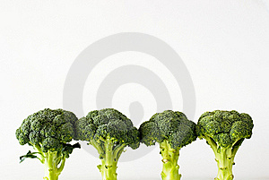 Fresh Sprouting Broccoli Stock Image - Image: 15844351
