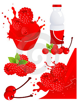 Forest Berry Products Stock Photos - Image: 15844803