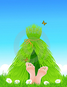Grass Shelter Royalty Free Stock Photos - Image: 15844808