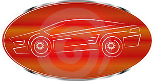 Sports Car Label, Auto Badge Design, Icon Stock Images - Image: 15847264