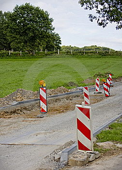 Road Reconstruction Stock Image - Image: 15848211
