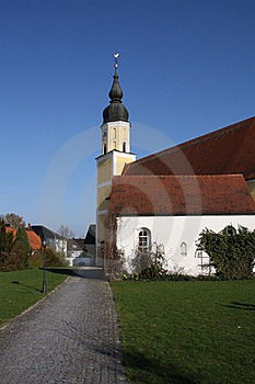 Church In Langquit Stock Photography - Image: 15848742
