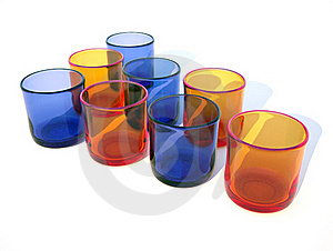 Colored Glasses Royalty Free Stock Images - Image: 15849079