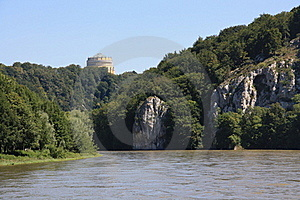 Danube In Kelheim Royalty Free Stock Images - Image: 15849559