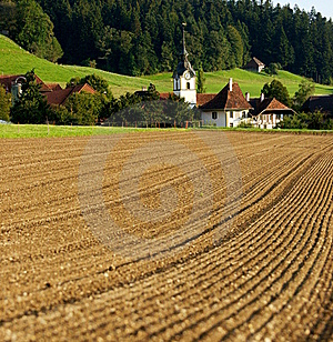 Swiss Village Stock Images - Image: 15849624