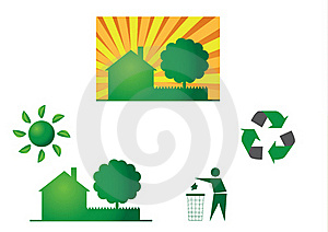 Eco Themes Royalty Free Stock Images - Image: 15853249