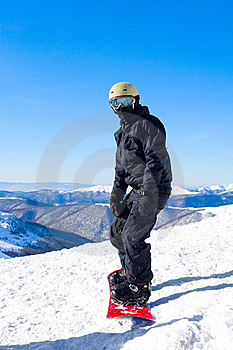 Snowboarder Stock Images - Image: 15853754