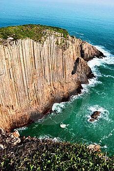 Steep Cliff Sea Stock Photo - Image: 15853880