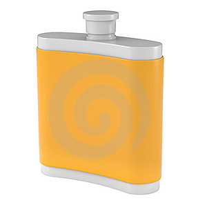 Flask Royalty Free Stock Images - Image: 15854839