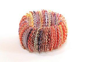 Seashell Bracelet Royalty Free Stock Photos - Image: 15859028