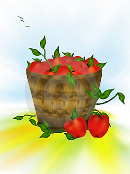 Pommes Rouges Savoureuses Images stock - Image: 15860254