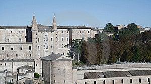 Castle Of Urbino Stock Image - Image: 15863611
