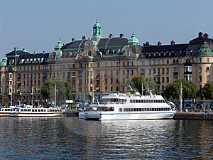 Quays Of Stockholm Royalty Free Stock Images - Image: 15864949