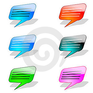 Icon Chat Stock Image - Image: 15865641