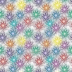 Seamless Vivid Pattern Royalty Free Stock Image - Image: 15867746