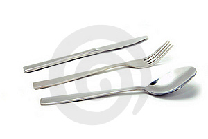 Fork, Spoon And Knife Royalty Free Stock Images - Image: 15869999