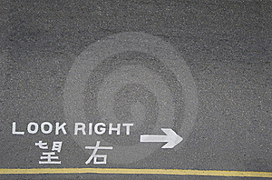 Look Right Stock Photo - Image: 15871040