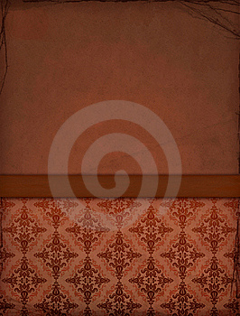 Old Wallpaper Royalty Free Stock Photo - Image: 15871215