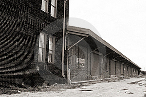 Abandoned Building Royalty Free Stock Photography - Image: 15871597