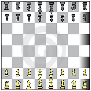 Chess Formation Stock Photo - Image: 15872230