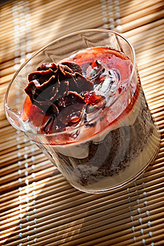 Chocolate Desert Stock Images - Image: 15872924