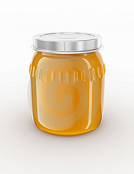 Glass Jar. Royalty Free Stock Images - Image: 15873309