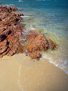 Sardinia Beach Royalty Free Stock Image - Image: 15873596