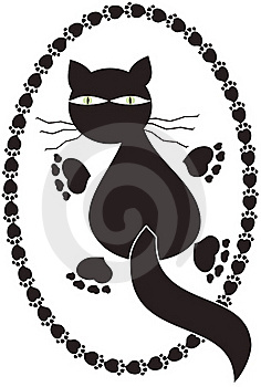 Logo Cat Royalty Free Stock Photos - Image: 15874178
